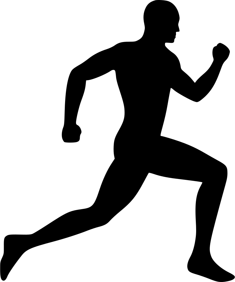 Running person clipart 3 » Clipart Station.