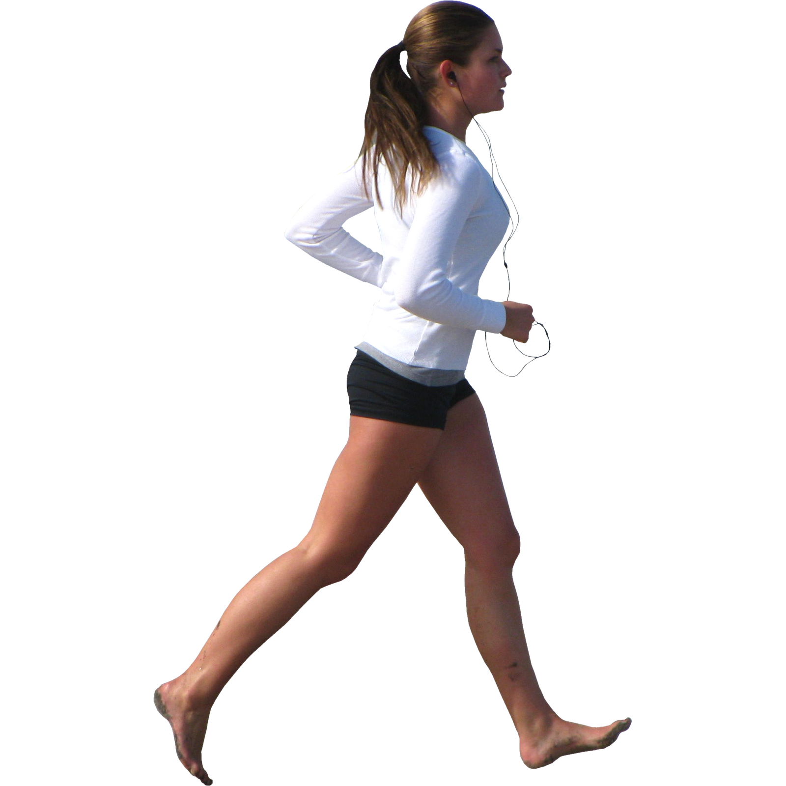 Running man PNG image, running woman PNG free download.