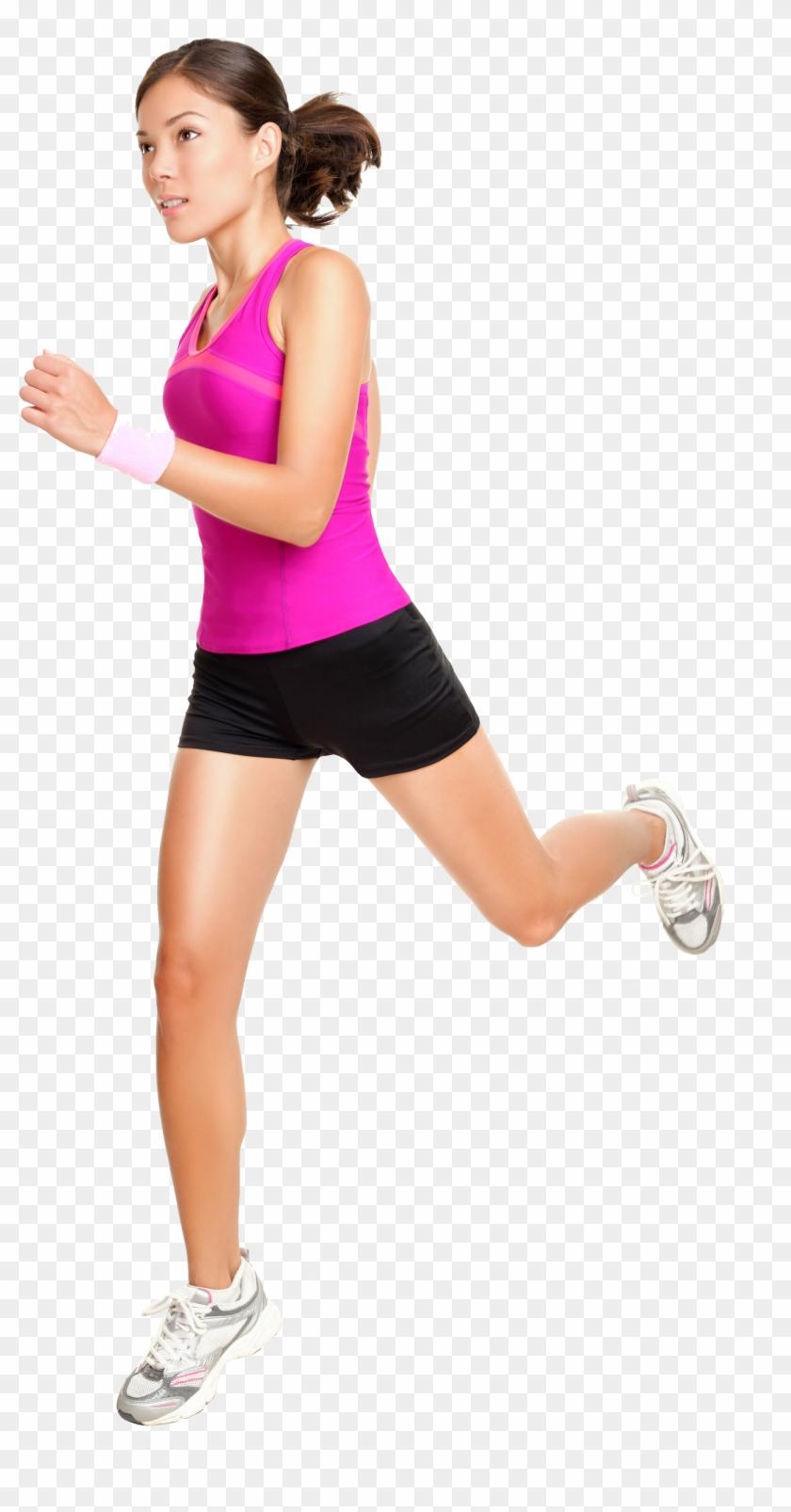 Running Girl Png Image.