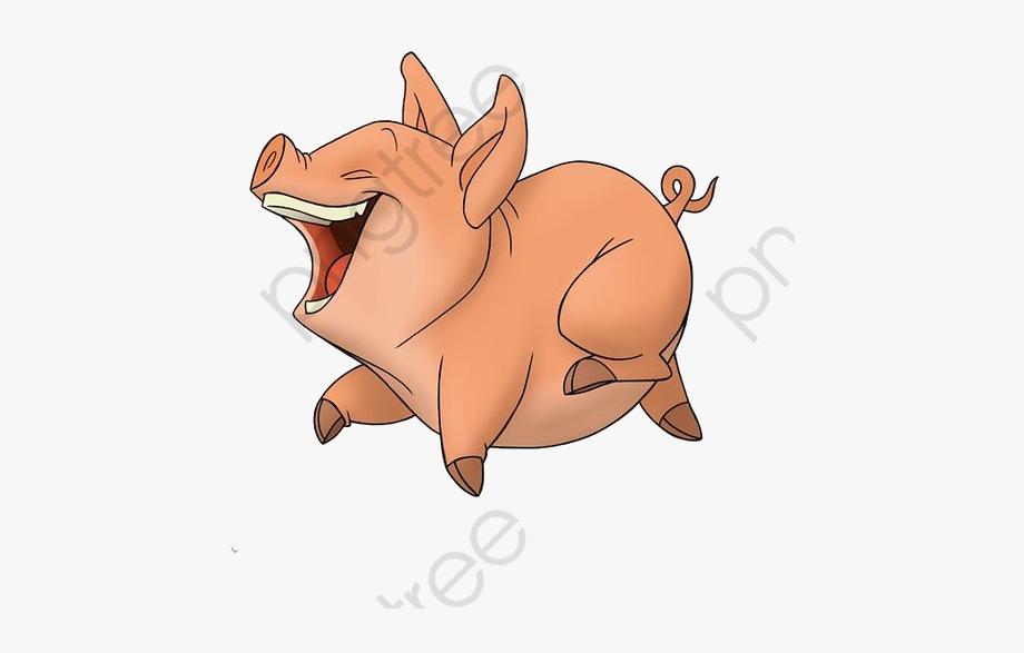 Pig Clipart Running.