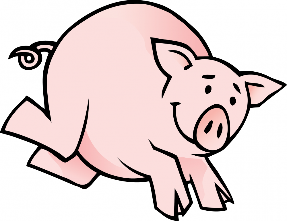 Free Outline Of A Pig, Download Free Clip Art, Free Clip Art.