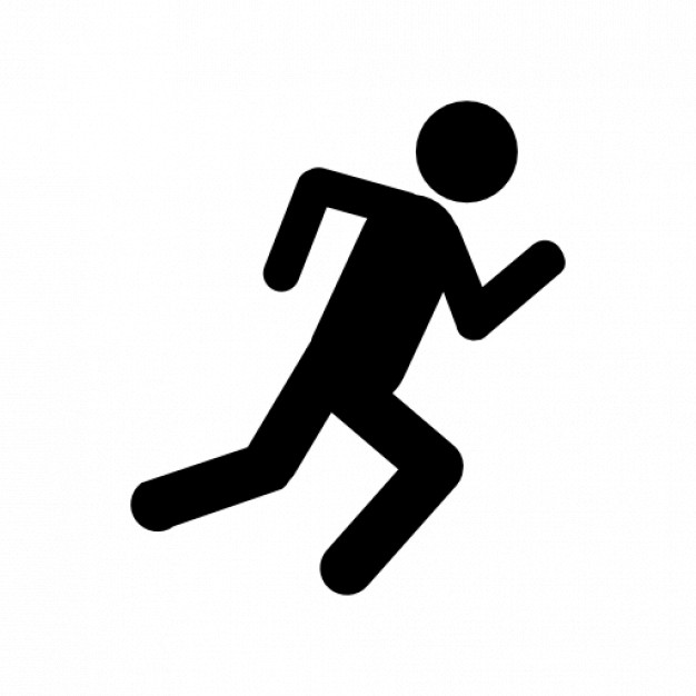Running man Icons.