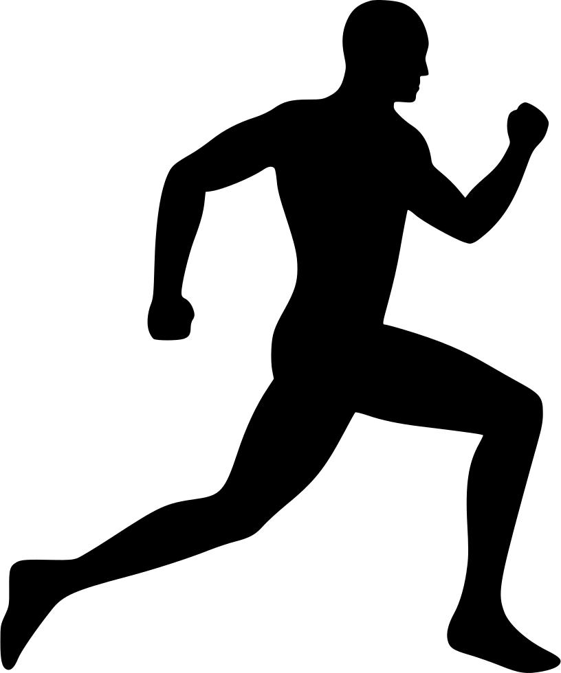 Running Man Svg Png Icon Free Download (#531817.