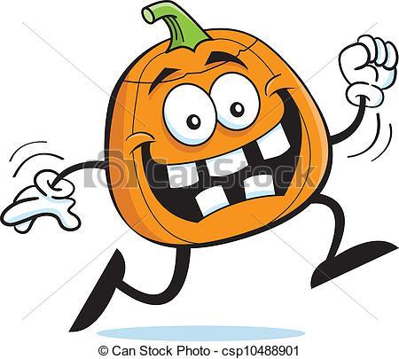 Running Pumpkin.