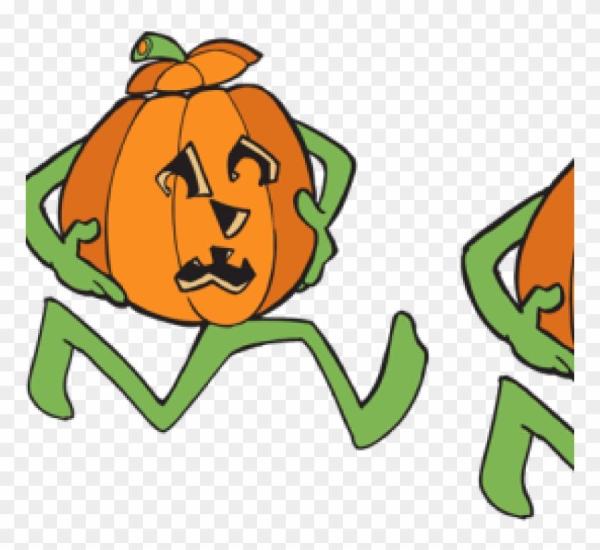 Running Pumpkin Clipart 5, HD Png Download.