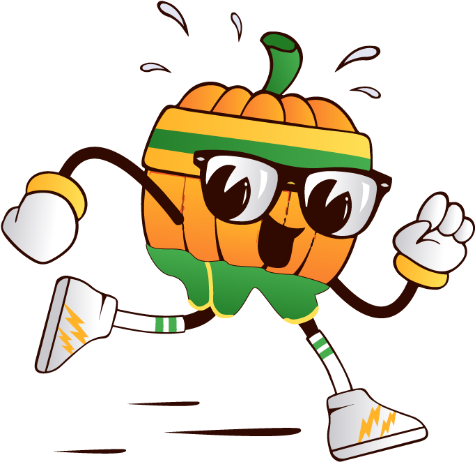 Alhambra Pumpkin Run Clipart.