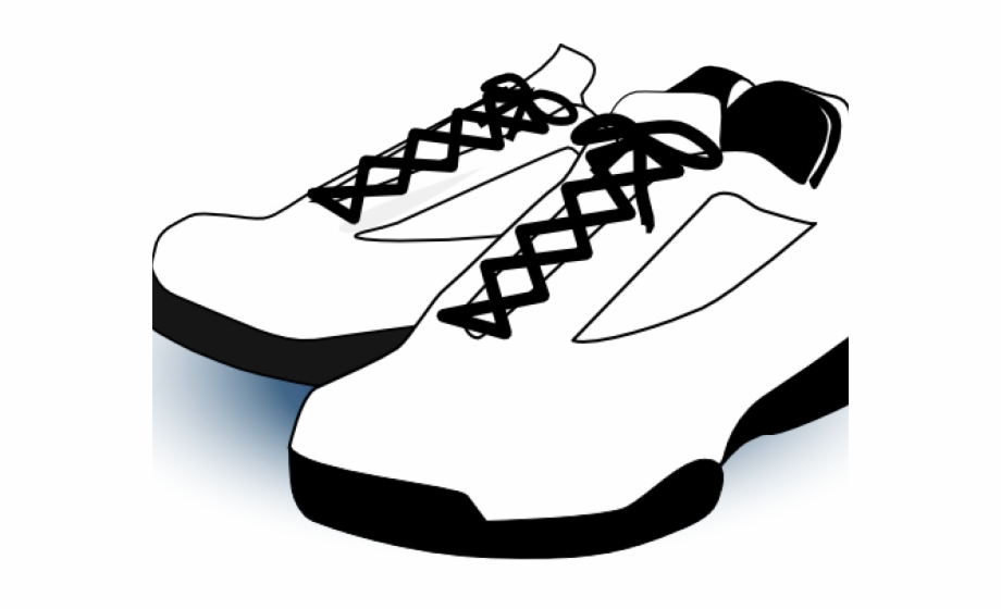 Running Shoes Clipart Walking Shoe.