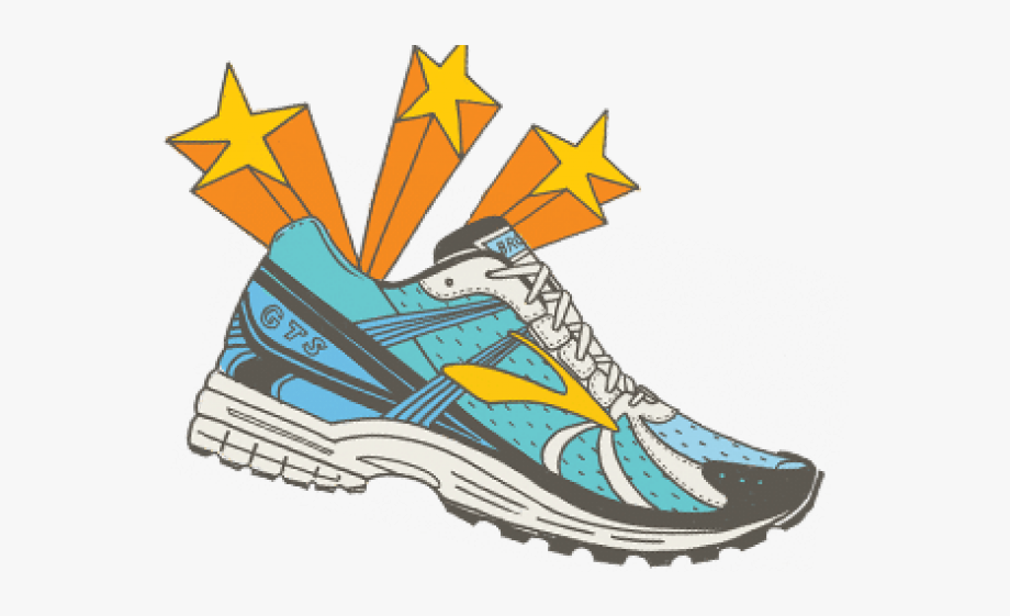 Running Shoes Clipart Cute Shoe.