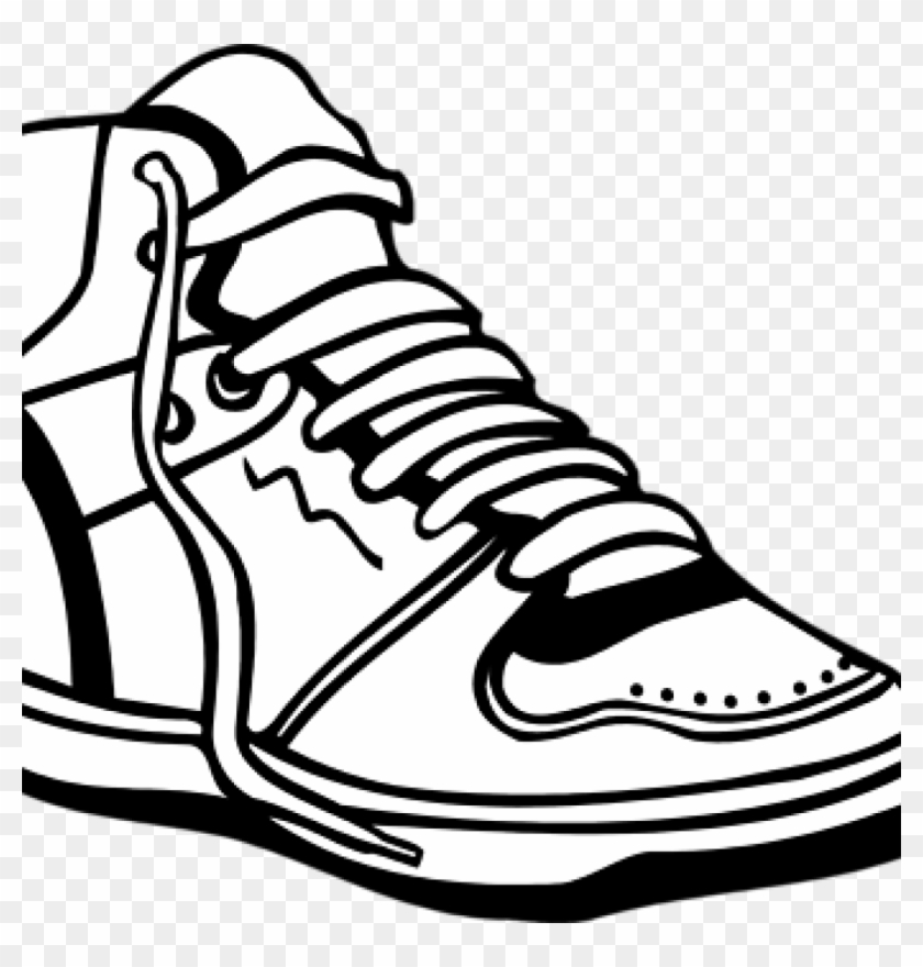 Shoes Clipart Black And White Food Clipart Hatenylo.