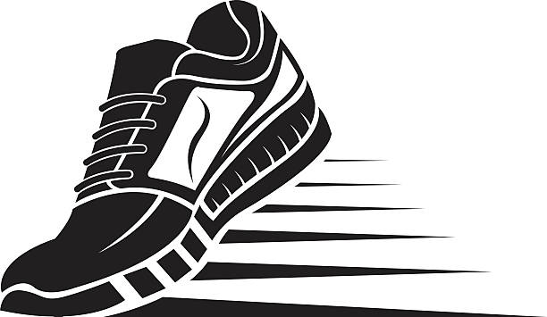 9+ Running Shoes Clipart.