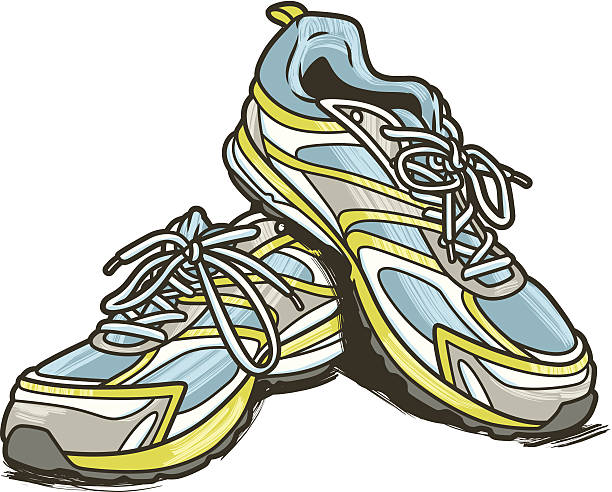 Running shoe clipart 4 » Clipart Station.