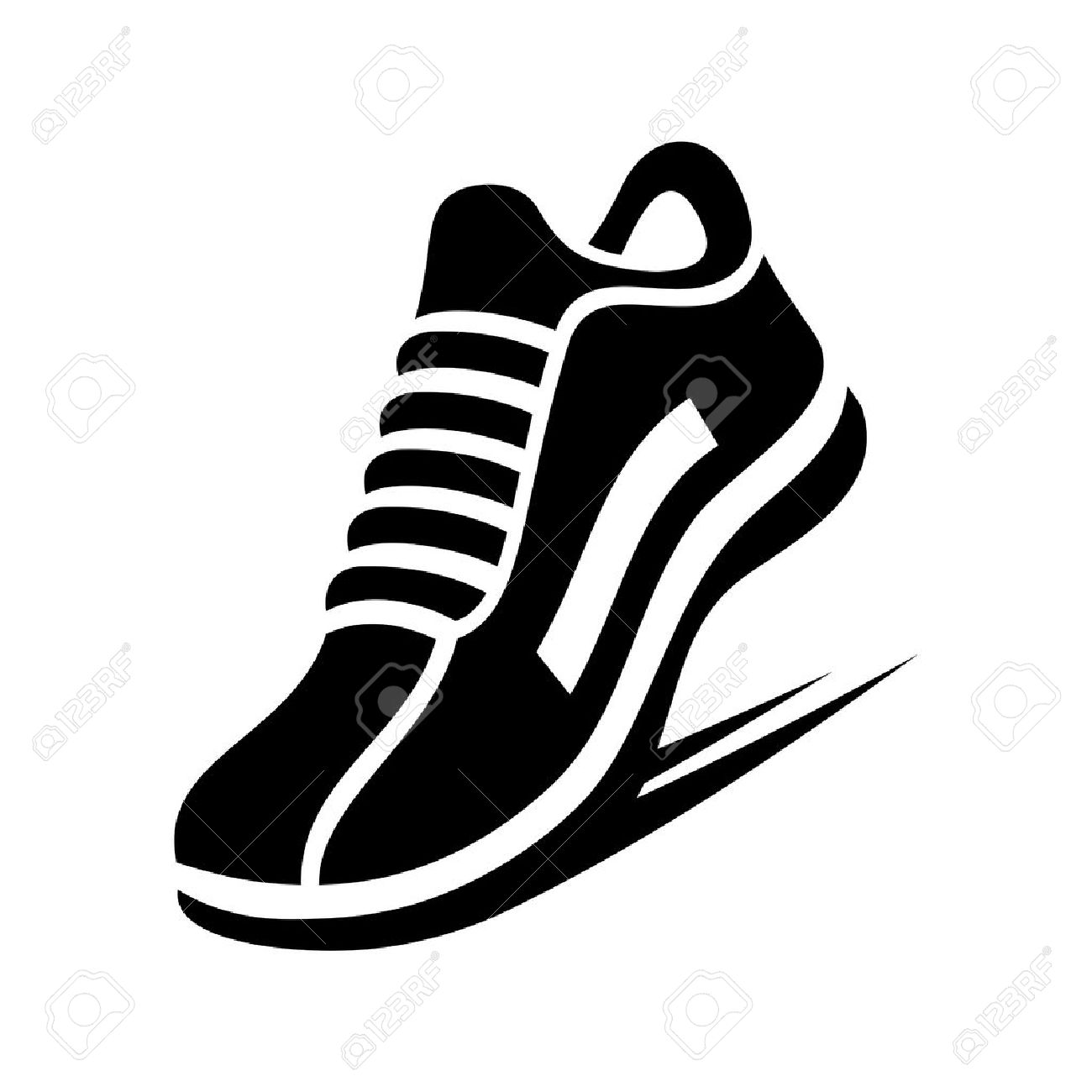 680 Running Shoe free clipart.