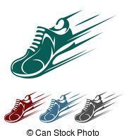 Bing Free Clip Art Running Shoes Running.