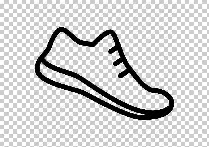 Sneakers Shoe Converse , Track Running Shoes Outline.