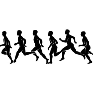 Sports clipart running.