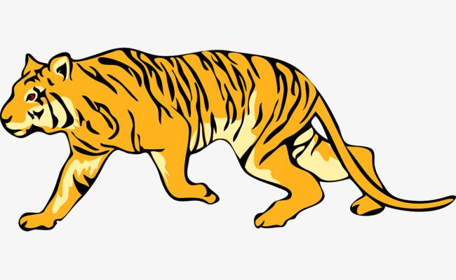 Download Free png Running Tigers, Run, Tiger, Pattern PNG.