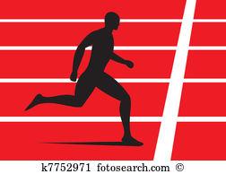 Running track Clip Art and Illustration. 2,278 running track.