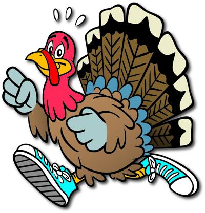 Running turkey clipart free images.