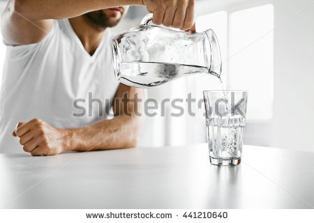 Drinking Water Stock Images, Royalty.