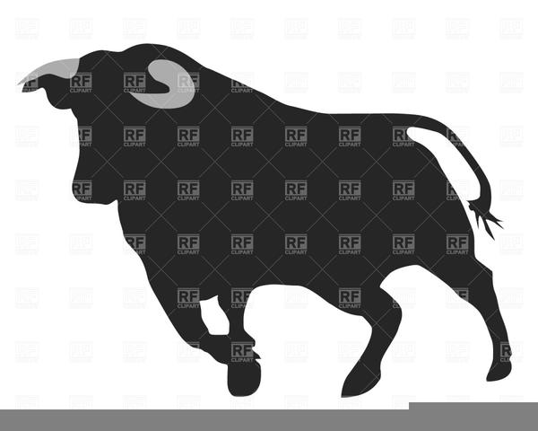 Running Bull Clipart.