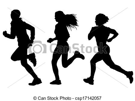 Running woman Stock Illustrations. 8,672 Running woman clip art.