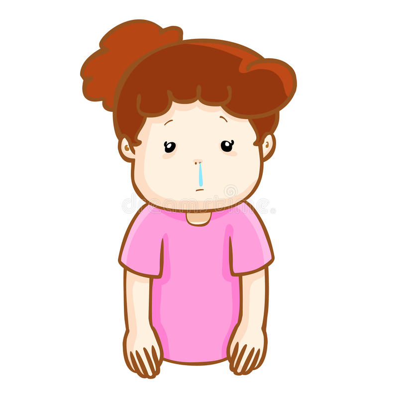 Runny Nose Clipart.