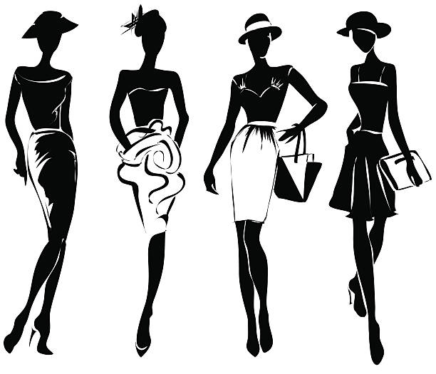 Runway fashion clipart 5 » Clipart Station.