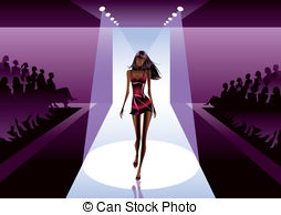 Runway fashion clipart 1 » Clipart Station.