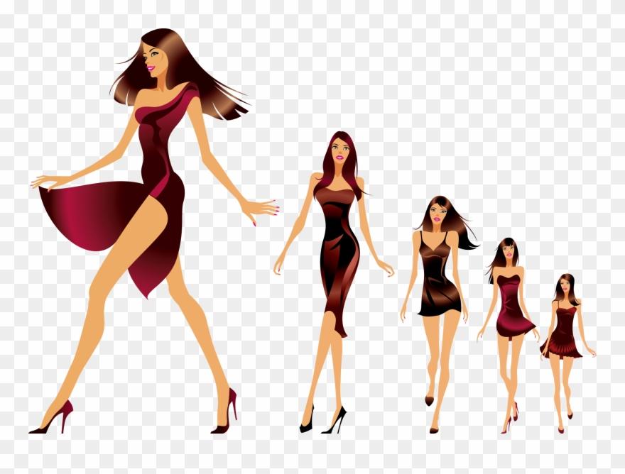 Fashion Show Runway Model Clipart (#2325540).