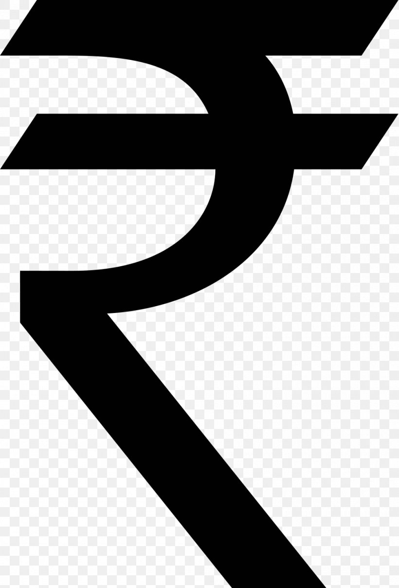 Indian Rupee Sign, PNG, 1000x1471px, India, Area, Black.