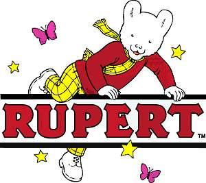 Rupert bear Clip Art.
