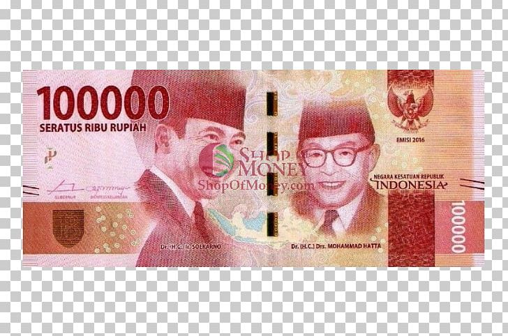 Indonesian Rupiah Banknotes Of The Rupiah Money PNG, Clipart.