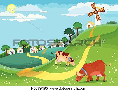 Rural Clip Art Illustrations. 31,834 rural clipart EPS vector.