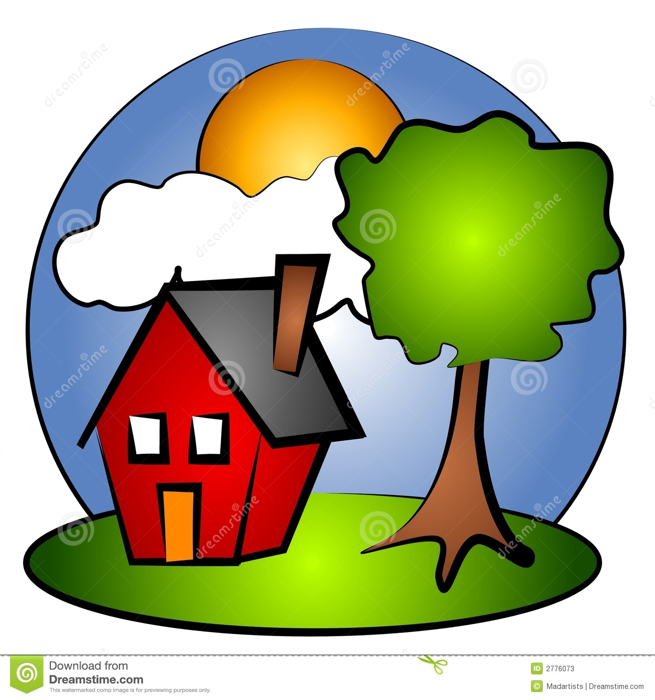 Collection of Rural clipart.