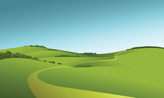 Rural Landscape Clipart Clipground
