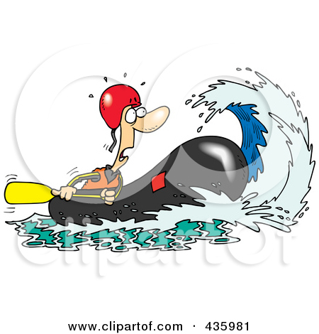 White water clipart #5
