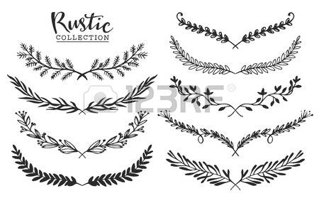 7,903 Rustic Flower Stock Vector Illustration And Royalty Free.