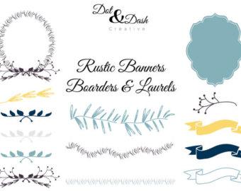 Free Rustic Clip Art Borders.