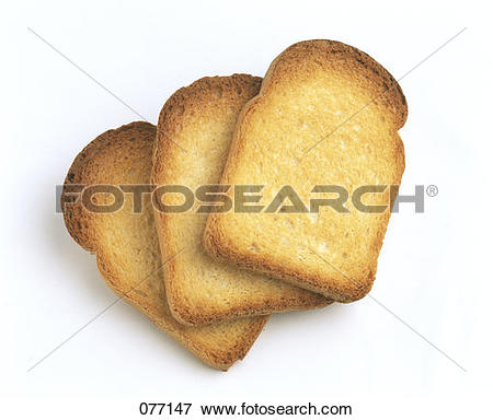 Picture of rusk bread 077147.