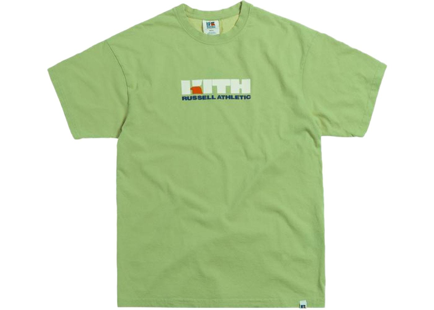 Kith x Russell Athletic Varsity Logo Tee Mistletoe.