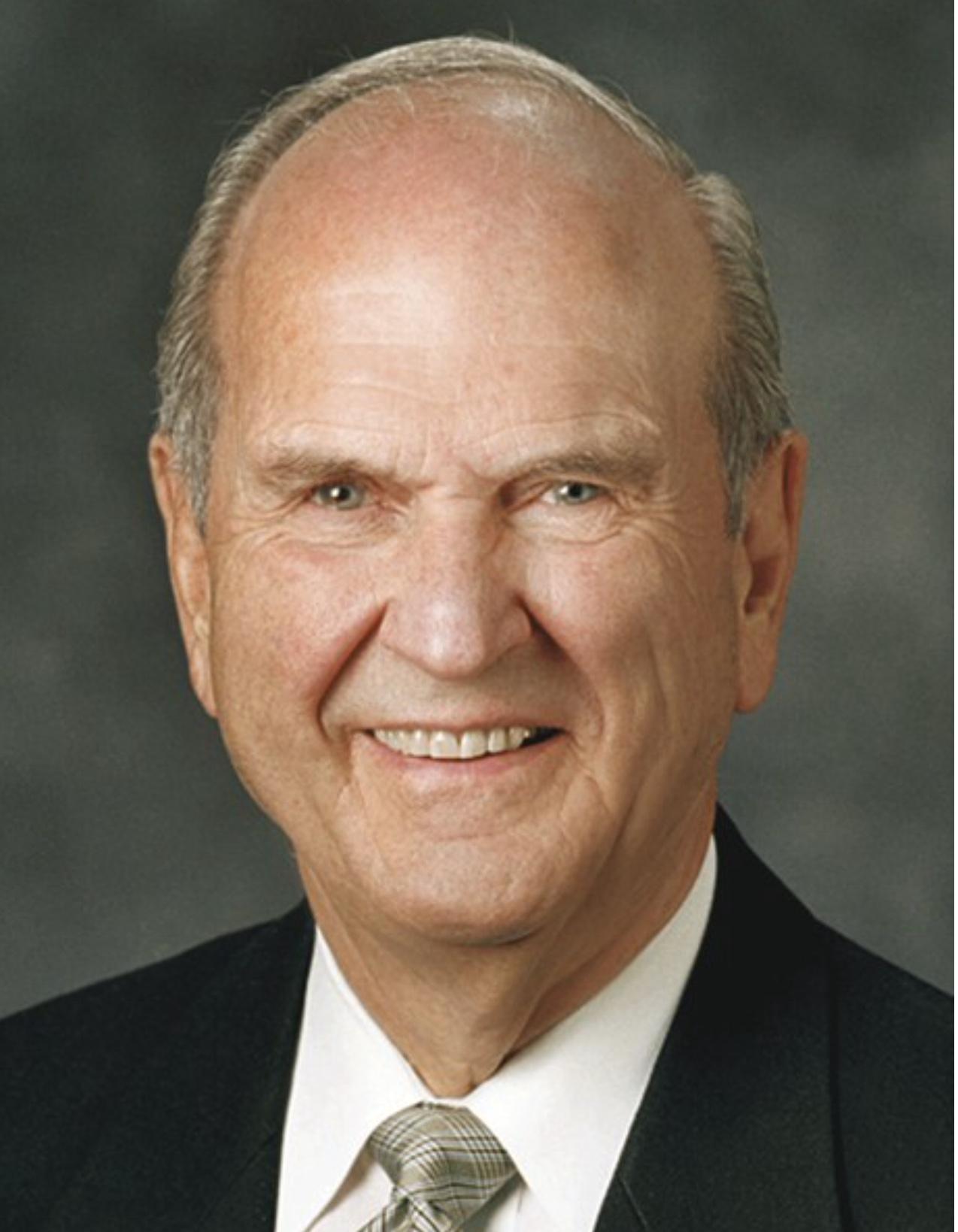 Prophet: Russel M. Nelson.