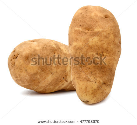 Idaho Russet Potatoes Stock Photos, Royalty.