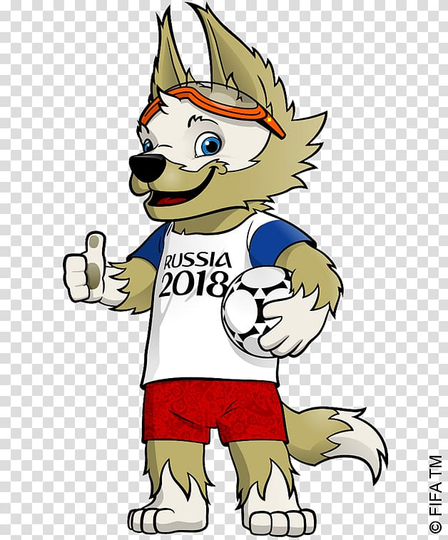 2018 FIFA World Cup Russia FIFA World Cup official mascots.