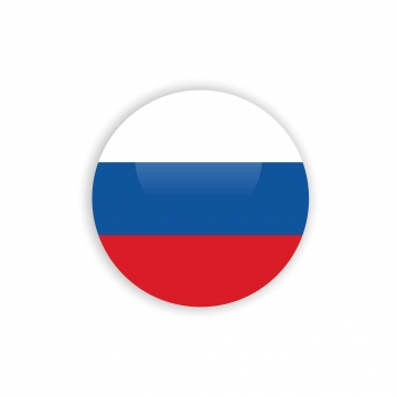 Flag Russia Icon PNG Images.