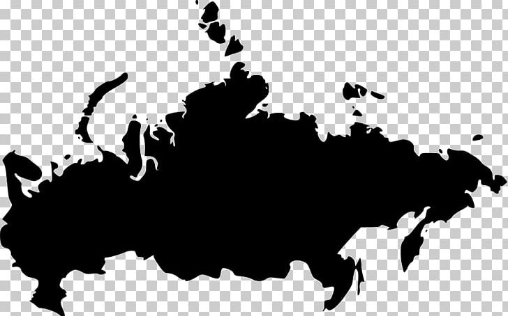 Russia Map PNG, Clipart, Black, Black And White, Cattle Like.