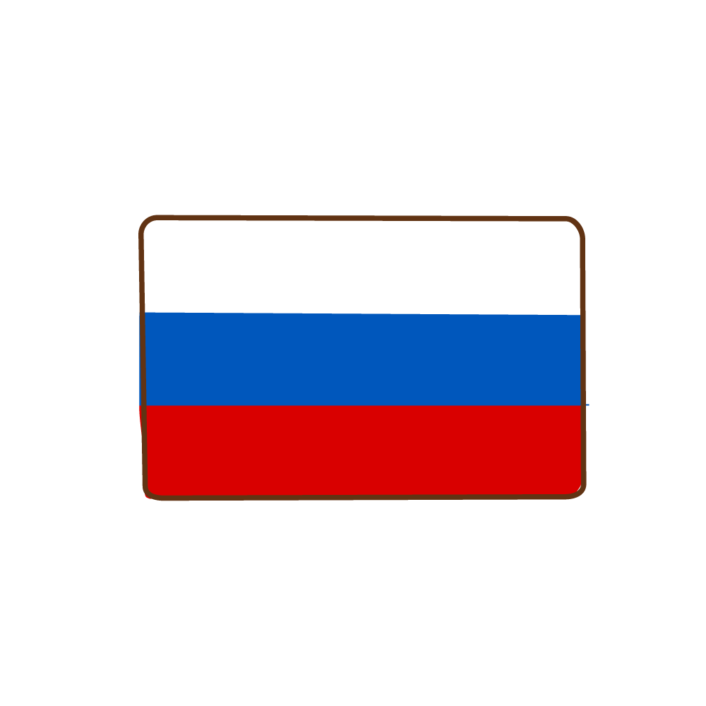 Flag of Russia Icon.