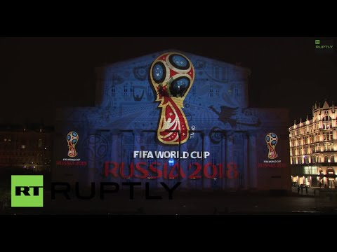 Russia: Watch the dazzling unveiling of the 2018 FIFA World Cup logo.