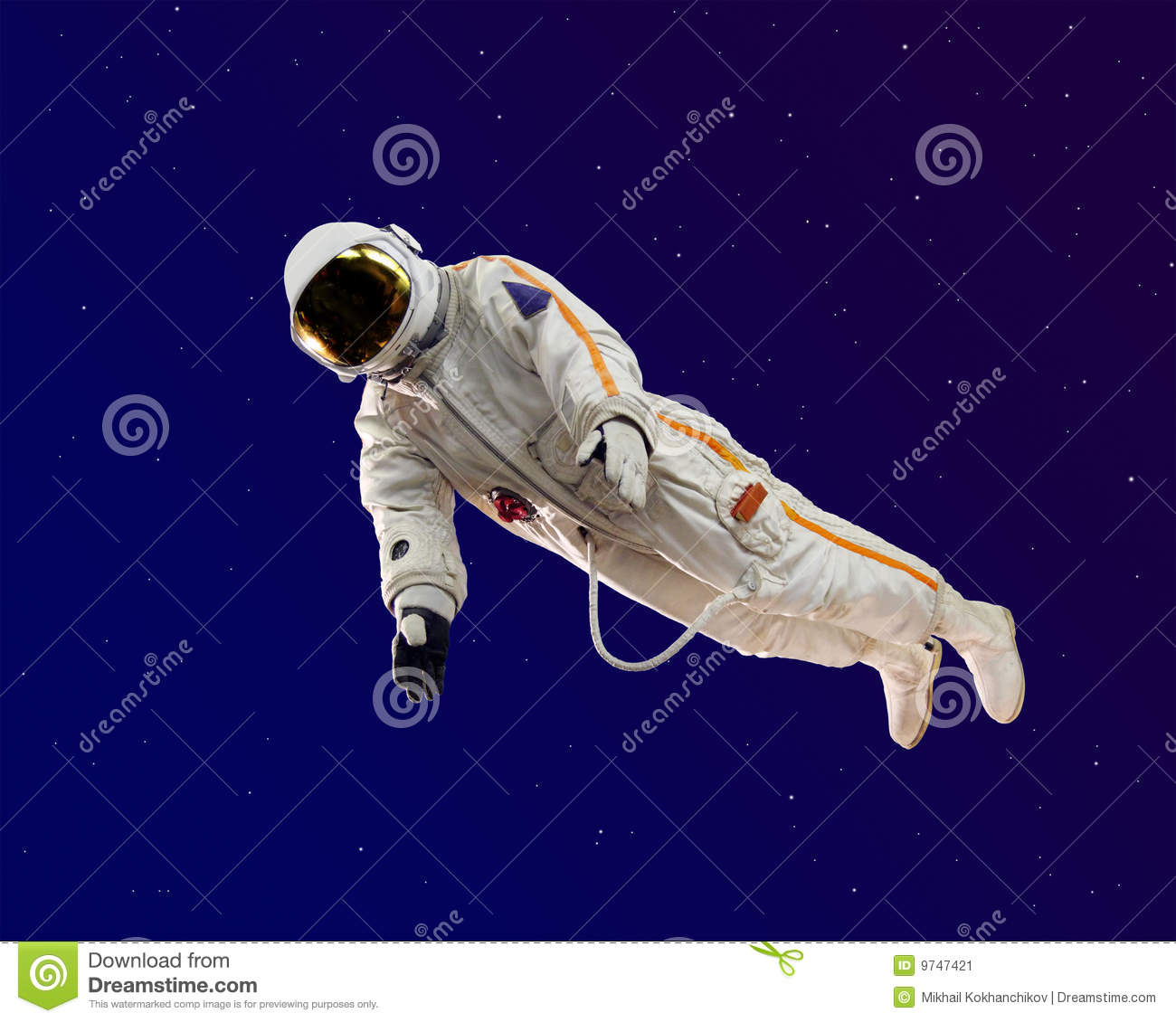 Old Russian Astronaut Suit Stock Image.