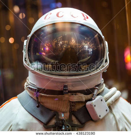 Russian Cosmonaut Stock Photos, Royalty.