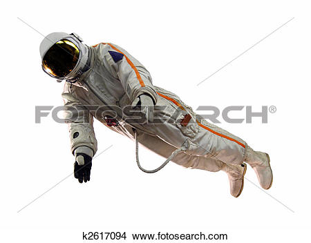 Stock Photo of old russian astronaut suit k2617094.